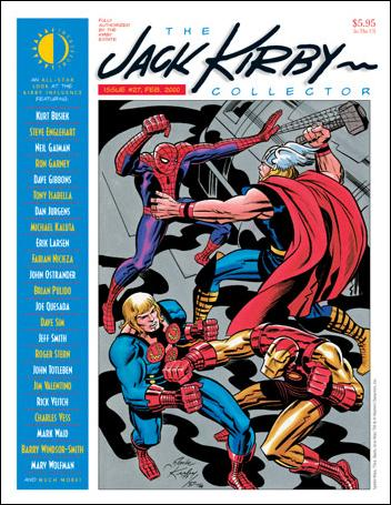 Jack Kirby Collector 27-A by TwoMorrows