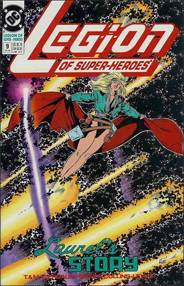 Legion of Super-Heroes (1989) 9-A by DC