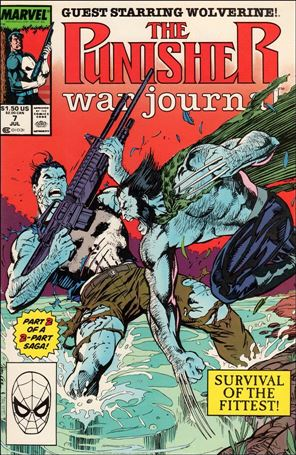 Punisher War Journal (1988) 7-A