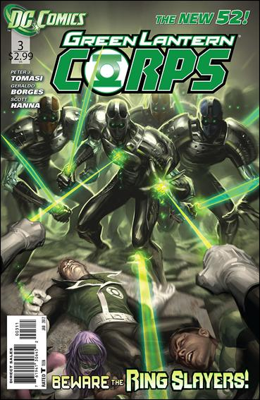 Green Lantern Corps (2011) 3-A by DC