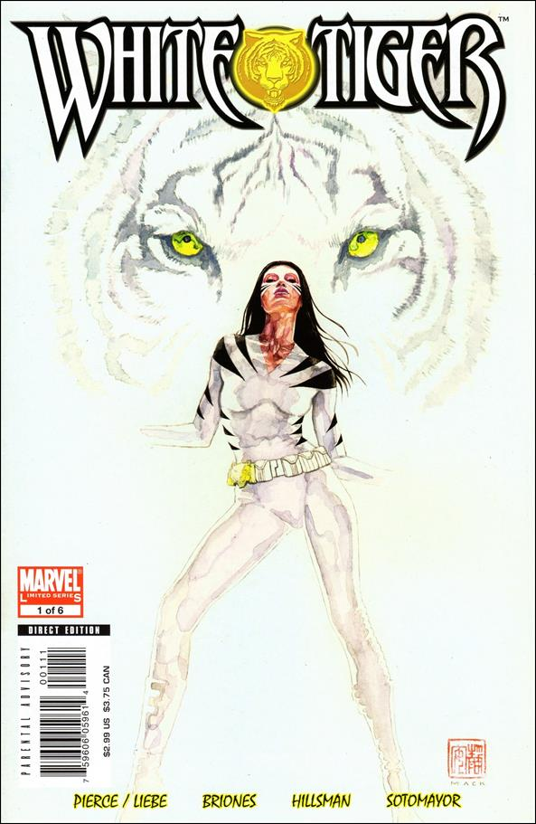 White Tiger 1-A by Marvel