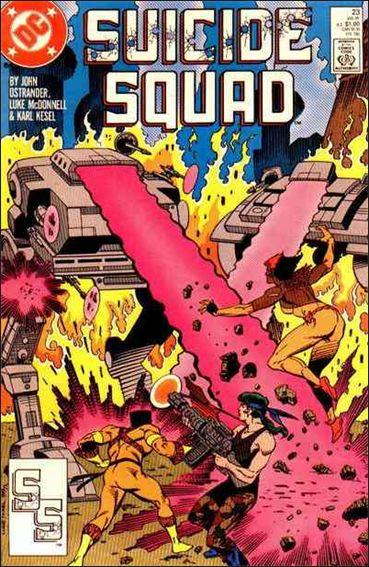 Suicide Squad (1987) 23-A by DC