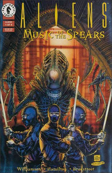 Aliens: Music of the Spears 1-A by Dark Horse