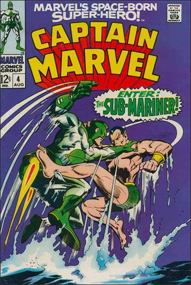 Captain Marvel (1968) 4-A by Marvel