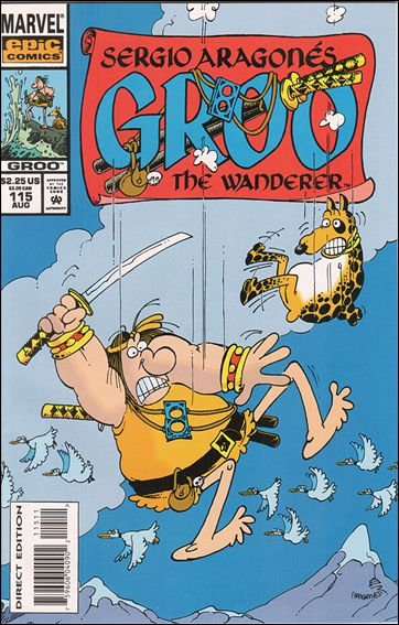 Sergio Aragones Groo the Wanderer 115-A by Epic