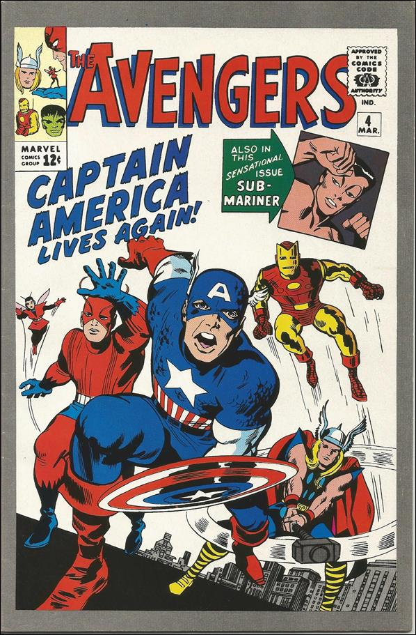 Avengers (1963) 4-C by Marvel