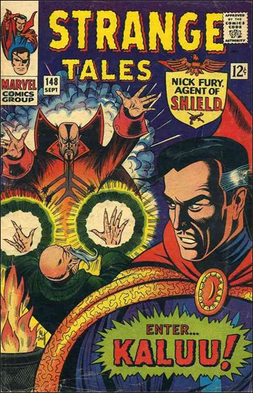 Strange Tales (1951) 148-A by Marvel
