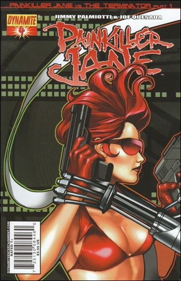Painkiller Jane (2007) 4-A by Dynamite Entertainment