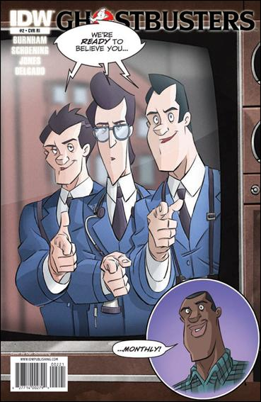 Ghostbusters (2011) 2-C by IDW