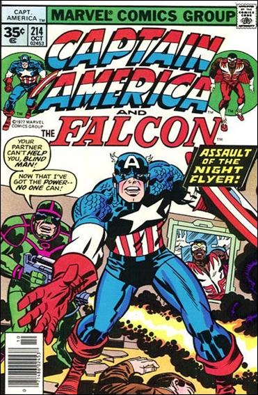 Captain America (1968) 214-B by Marvel