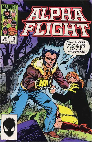 Alpha Flight (1983) 13-A by Marvel