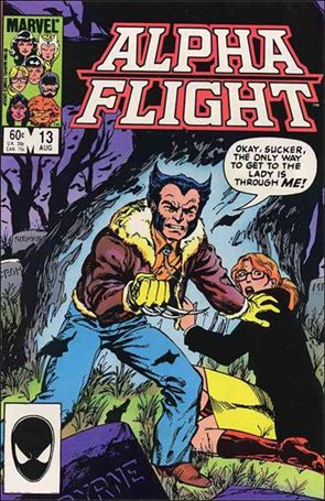 Alpha Flight (1983) 13-A