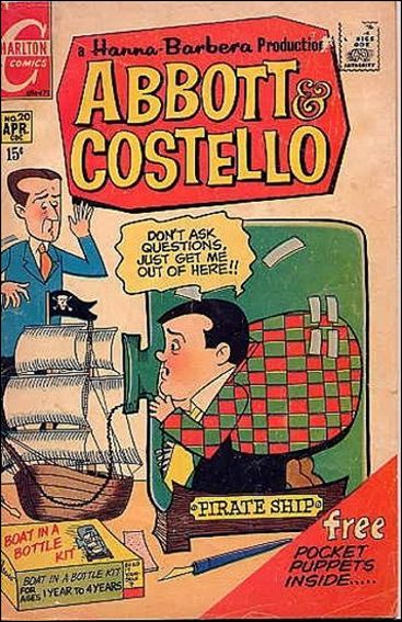 Abbott and Costello (1968) 20-A by Charlton