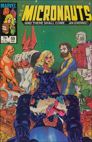 Micronauts (1979) 59-A by Marvel