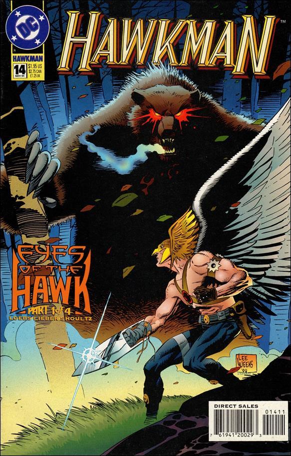 Hawkman (1993) 14-A by DC