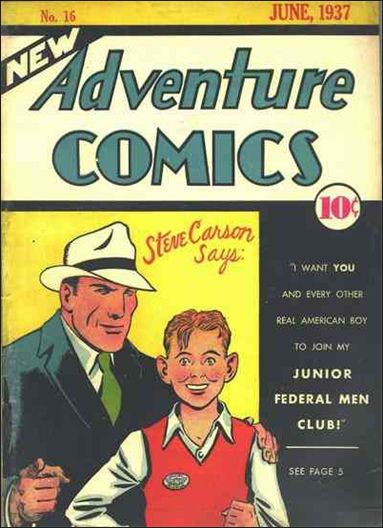 New Adventure Comics 16-A by DC