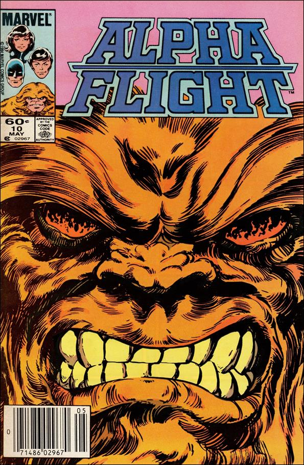 Alpha Flight (1983) 10-A by Marvel
