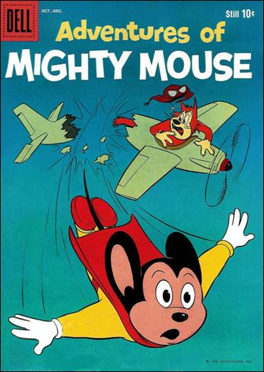 Adventures of Mighty Mouse (1959) 144-A by Dell