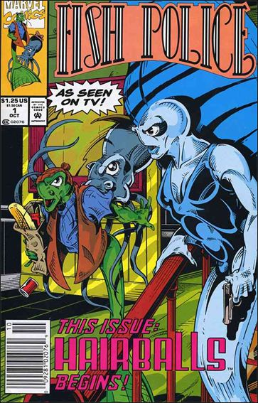 Fish Police (1992) 1-A by Marvel