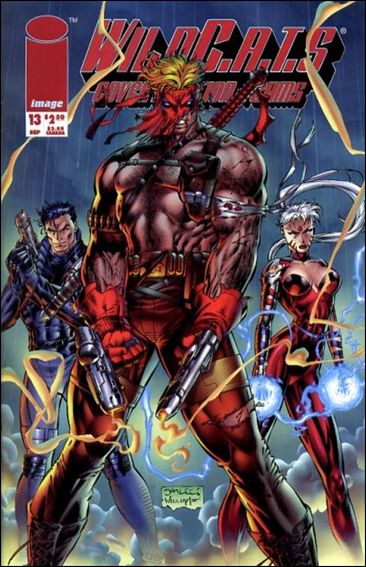 WildC.A.T.s: Covert Action Teams 13-A by Image