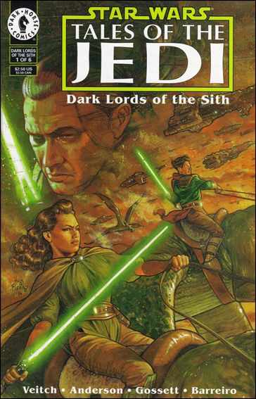 Star Wars: Tales of the Jedi - Dark Lords of the Sith, Book One 1-B by Dark Horse