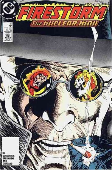 Fury of Firestorm 62-A by DC