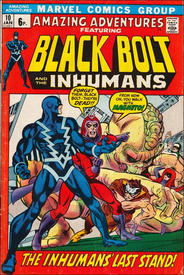 Amazing Adventures (1970) 10-B by Marvel