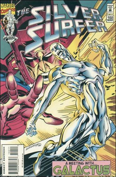 Silver Surfer (1987) 102-A by Marvel