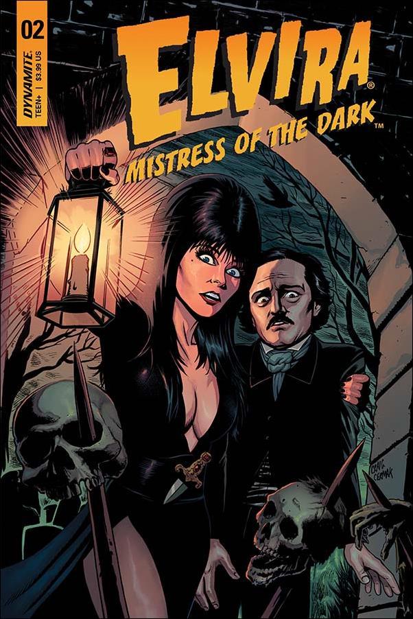 Elvira, Mistress of the Dark (2018) 2-B by Dynamite Entertainment