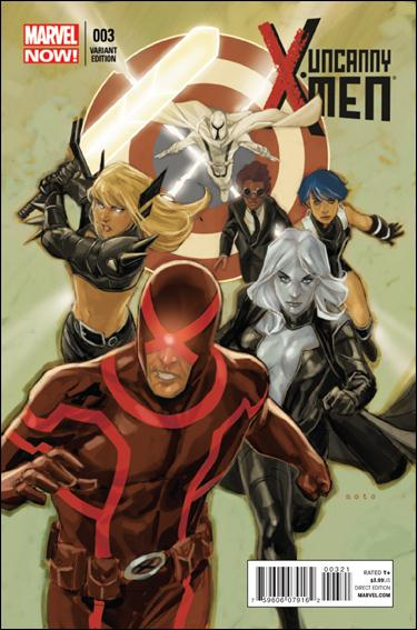 Uncanny X-Men (2013) 3-B by Marvel