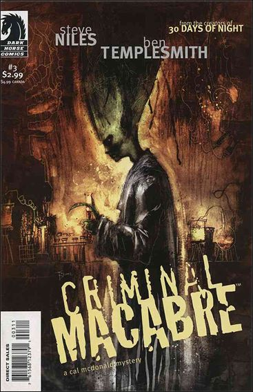 Criminal Macabre: A Cal McDonald Mystery 3-A by Dark Horse