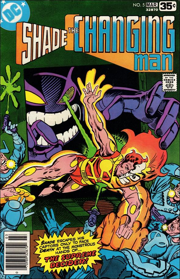 Shade, the Changing Man (1977) 5-A by DC