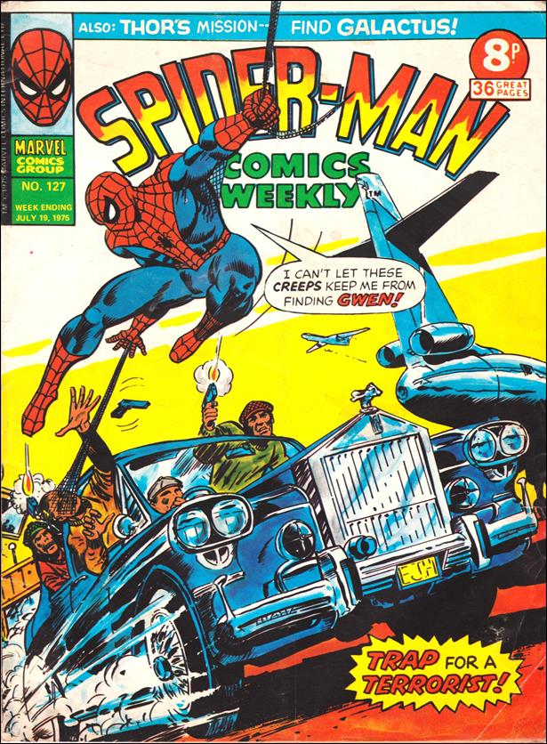 Spider-Man: Comics Weekly (UK) 127-A by Marvel UK