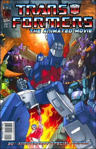 Transformers: The Animated Movie 1-A by IDW