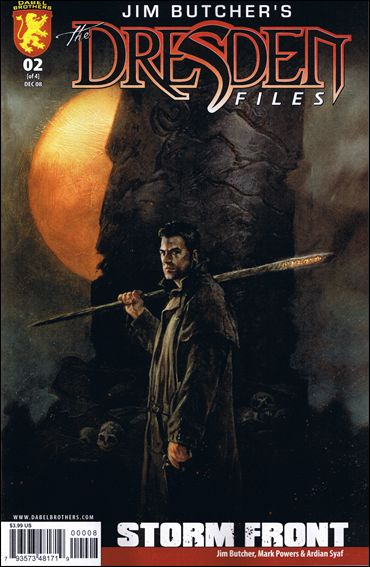 Jim Butcher's The Dresden Files: Storm Front (2008) 2-A by Dabel Brothers (DB) Productions