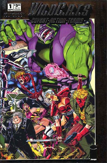 WildC.A.T.s Sourcebook 1-A by Image