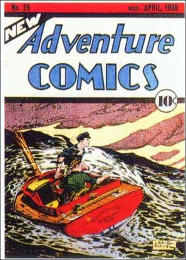 New Adventure Comics 25-A by DC