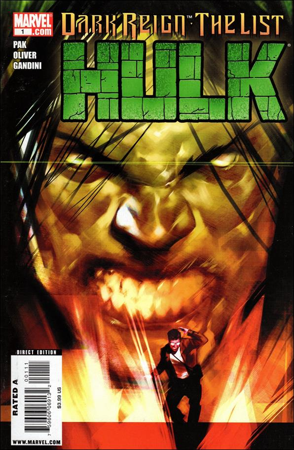 Dark Reign: The List - Hulk 1-A by Marvel