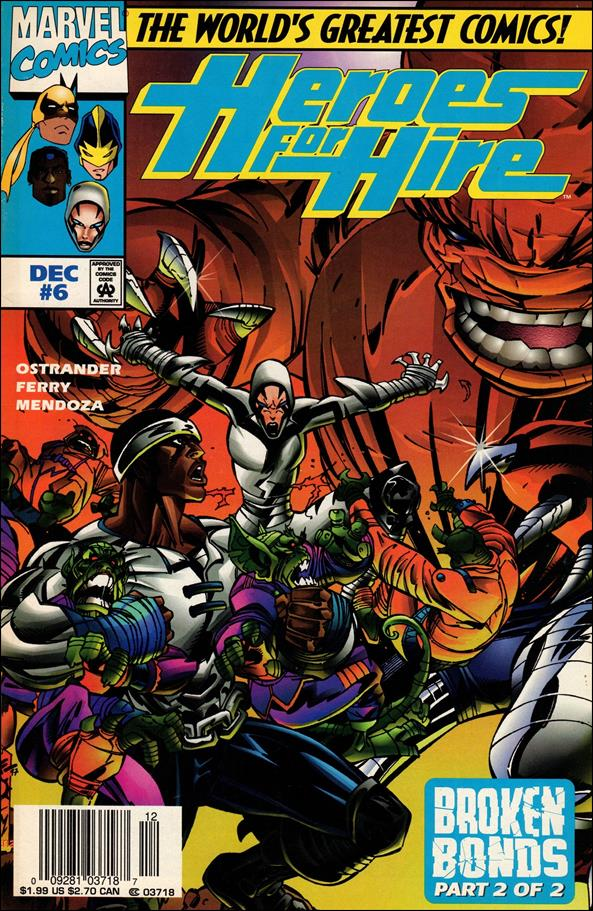 Heroes for Hire (1997) 6-A by Marvel