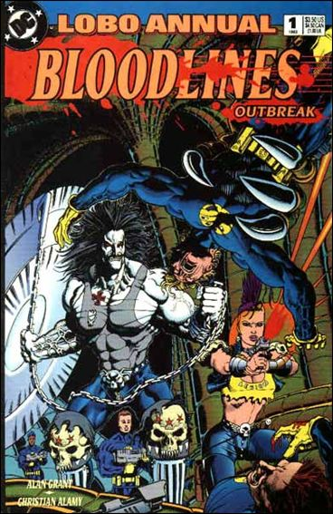Lobo Annual (1993) 1-A by DC