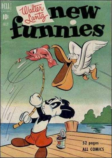Walter Lantz New Funnies 173-A by Dell
