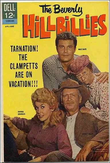 Beverly Hillbillies 5-A by Dell