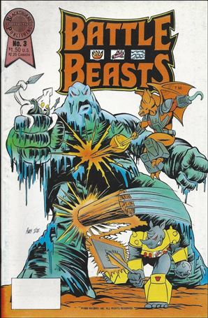 Battle Beasts (1988) 3-A