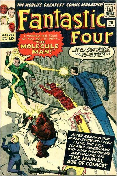 Fantastic Four (1961) 20-A by Marvel
