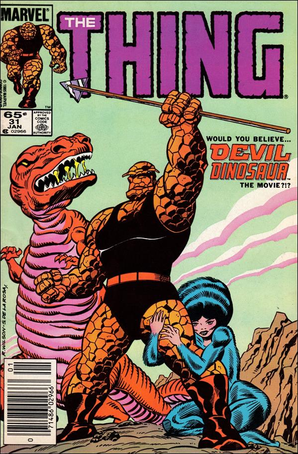 Thing (1983) 31-A by Marvel