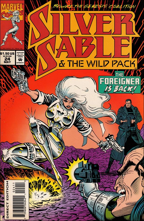 Silver Sable & The Wild Pack 24-A by Marvel