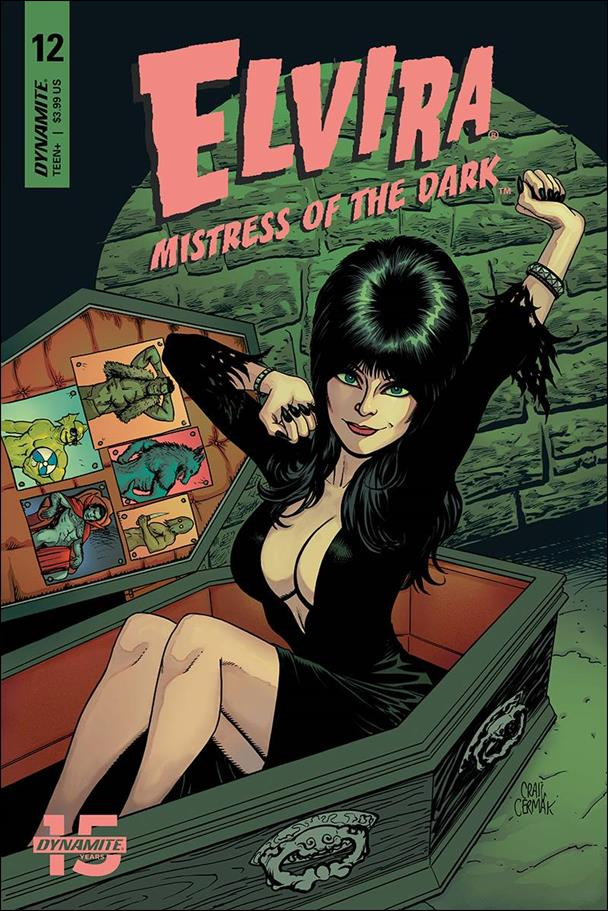 Elvira, Mistress of the Dark (2018) 12-B by Dynamite Entertainment