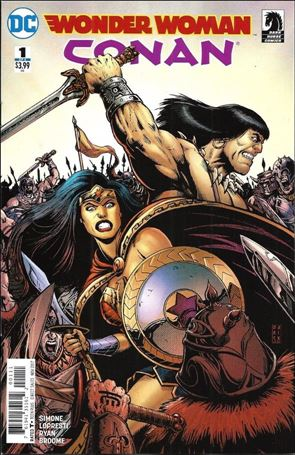 Wonder Woman/Conan 1-A