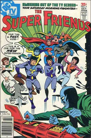 Super Friends (1976) 7-A by DC