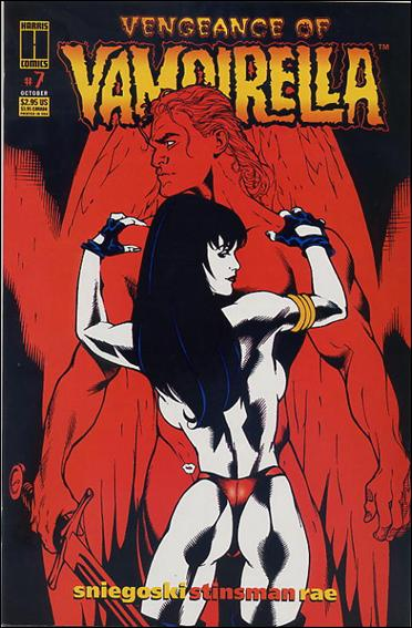 Vengeance of Vampirella 7-A by Harris
